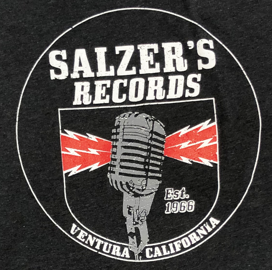 Salzer's Records T-Shirt (XS)