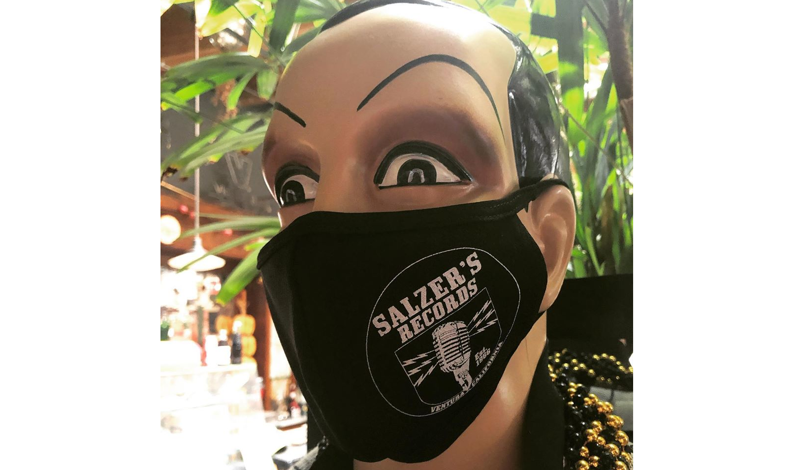 Salzer's Records - Face Mask